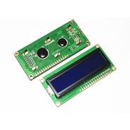 Display Lcd Arduino Lcd1602 Fondo Azul 16x2