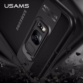 Funda Para Galaxy S8 Y S8 Plus Con Tapa Trasera Transparente