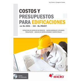 Ebook Costos Y Presupuestos Para Edificaciones