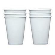 Copo De Papel Biodegradavel 120ml Branco - Pacote Com 55und