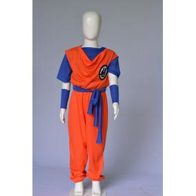 Fantasia Goku Dragon Ball Cosplay Infantil