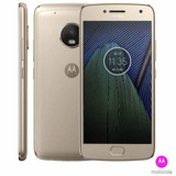 Moto G5 Plus Ouro Motorola Tela 5,2 4g 32 Gb 12 Mp Xt1683