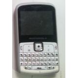 Celular Motorola Ex115 Rosa C/ Branco Dual Sim Com Defeito