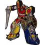 Parche Bordado Megazord Power Rangers Grande Mighty Morphin