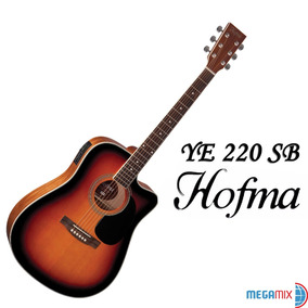 Violão Ye 220 Sb Hofma By Eagle - Frete Grátis
