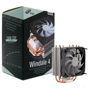 Fsp Windale 4 Cpu Cooler 4 Direct Contact Heatpipes 6mm Alum