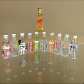 Miniaturas De Vodka Absolut De 50ml - 10 Sabores