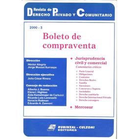 Boleto De Compraventa - Mosset Iturraspe - Dyf
