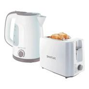 Combo Desayuno Smartlife Pava/tostadora Sl-coekto01w Oferta!
