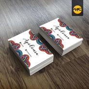 500 Tarjetas Personales Full Color