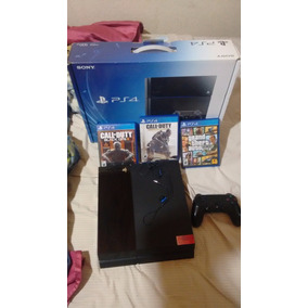Ps4 + 14 Juegos (4 Fisico)uncharted 4 Call Of Dutty Lega