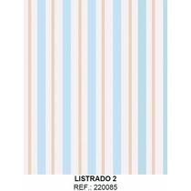 Papel Adesivo Contact Listrado Infantil Lavável 45cm X 10mt