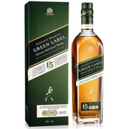 Whisky Johnnie Walker Green Label 750ml En Estuche