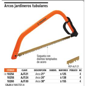 Arco Jardinero Tubular 21 Pulgadas , Truper