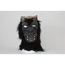 Máscara Látex Gorila Halloween Festa Fantasia Borracha Mal