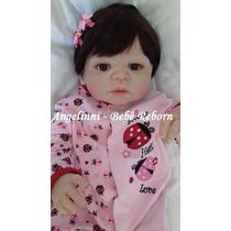 Bebê Reborn Joanna Silicone - Pronta Entrega! Molde Victória