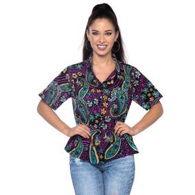 La Leela Playa De Hawai Vestido De Camisa Blusa Superior Enc