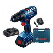 Taladro Atornillador A Bateria Bosch 18v Gsr180-li 2bat+male