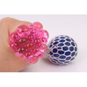 Squishy Squeeze Ball C/ Glitter X Unidad!! Increibles!!!
