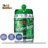 Cerveza Heineken ® Importada / Barril 5 Litros 20%off