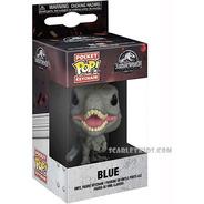 Llavero Funko Blue Jurassic World Pop Keychain Scarlet Kids