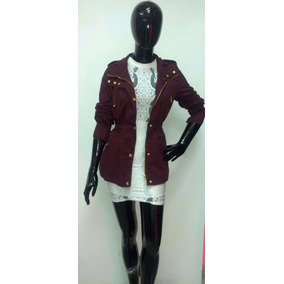 f531e483128fe Gabardina Nuevo Diseño De Mujer