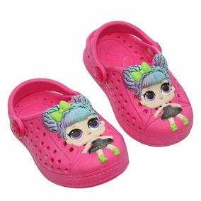 Crocs Boneca Lol Infantil Feminino Original Da Plugt