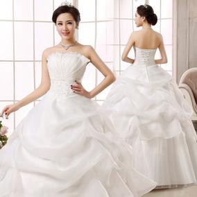 Vestido De Noiva Busto Sereia E Costa Espartilho