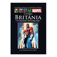 Hq Graphic Novels Capitão Britânia O Mundo Distorcido