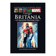 Hq Graphic Novels Capitão Britânia O Mundo Distorcido
