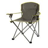 Quik Chair Heavy Duty Plegable Silla De Campo - Gris