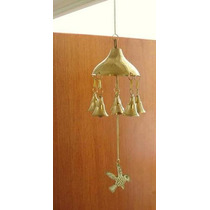 Campana Bronce Hindu Movil Llamador De Angeles