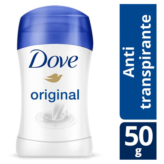 Desodorante Antitranspirante Dove Original En Barra 50gr