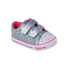 Skechers Twinkle Toes Zapatillas Niñas Luces 7 Us 23 Bra