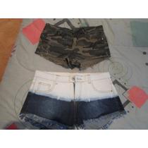 Vendo Dos Shores De Jeans Nuevos
