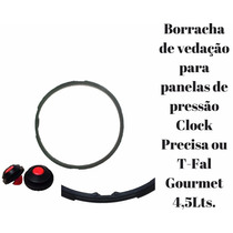 Kit. 2 Borracha P/panela Clock T-fal C/2 Valvulas De Seguran