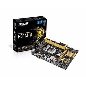 Placa Mãe Asus H81m-a P/ Intel Lga1150 2xddr3/1pci-e/2sata/2