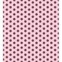 Papel Adesivo Contact 45 Cm X 10 Metros Poa Rosa Marrom