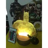 Batman Lampara 3d Multicolor Envio Gratis!!!