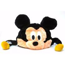 Touca Gorro Infantil Mickey Em Pelúcia Antialérgica Fantasia