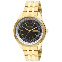 Relógio Technos Automatico 8205nn/4p Dourado