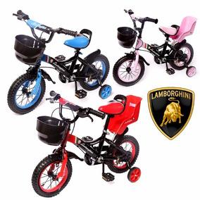 Bicicleta Infantil Rodado 12 Lamborghini Acero Baby Shopping