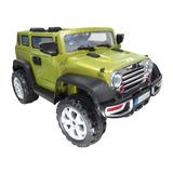 Carro Batería Eléctrico Jeep Rubicon Niño Niña Juguete