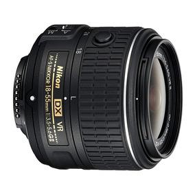Lente Nikon 18-55 Mm Vr Ii , 1 Año De Garantía Oficial!