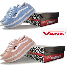 f2261d776ca Tenis Da Mega Shoes - Tênis Vans Azul claro no Mercado Livre Brasil