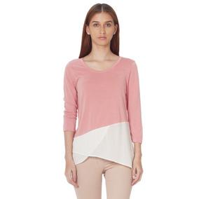 Suéter Cerrado De Mujer Aishop Aw172-d71356p Rosado b51324adcf1d