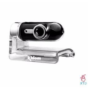 Camara Web Usb Khlom Klm 775 Web Microfono Usb Nuevas Xtc