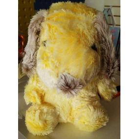 Peluche Perro Cachorro Perrito Amarillo Peluches Animales