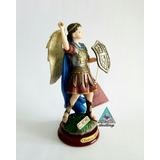 Hermosa Figura De San Miguel Arcángel Sin Diablo