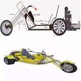 Proyecto Moto Tricilco Tribickers Motocicleta 3 Ruedas Stand